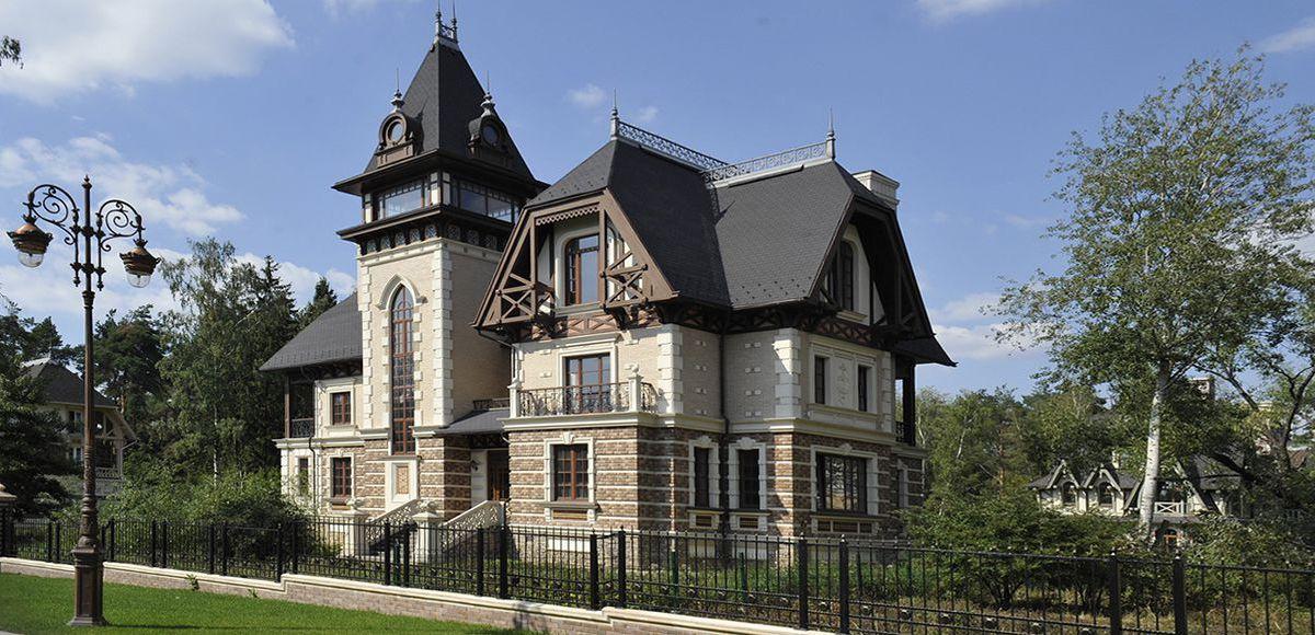 Дом в нормандском стиле в КП Довиль
