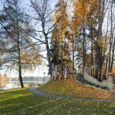 Осень в поселке Довиль
