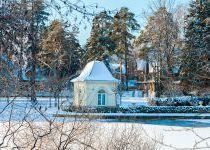Зима в поселке Довиль