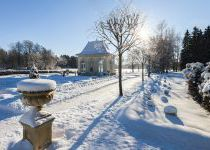 Зимний пейзаж в КП Довиль